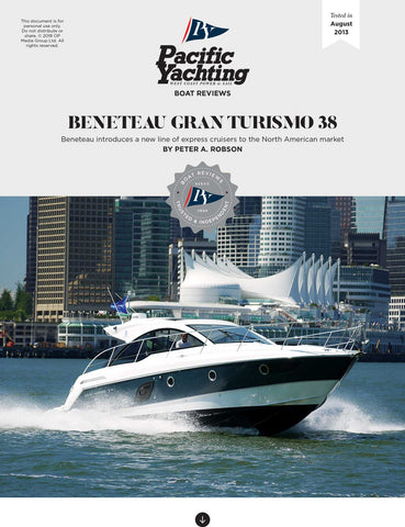 Beneteau Gran Turismo 38 [Tested in 2013]