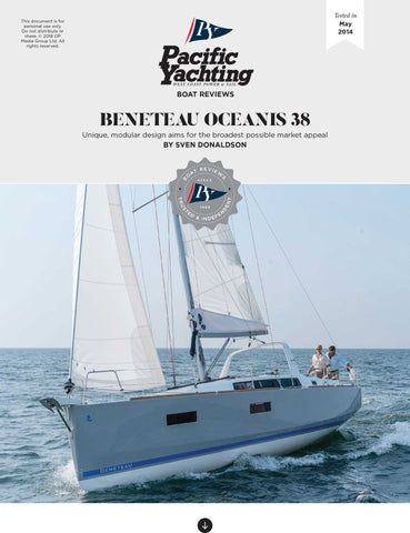 Beneteau Oceanis 38 [Tested in 2014]
