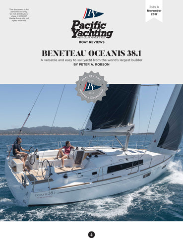 Beneteau Oceanis 38.1 [Tested in 2017]