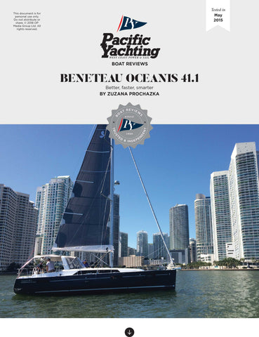 Beneteau Oceanis 41.4 [Tested in 2016]