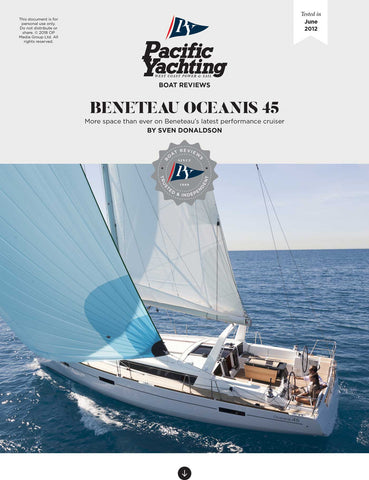 Beneteau Oceanis 45 [Tested in 2012]