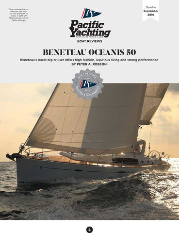 Beneteau Oceanis 50 [Tested in 2010]
