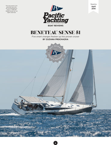 Beneteau Sense 51 [Tested in 2018]
