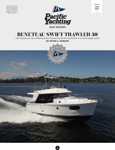 Beneteau Swift Trawler 30 [Tested in 2017]