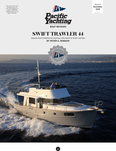 Beneteau Swift Trawler 44 [Tested in 2018]