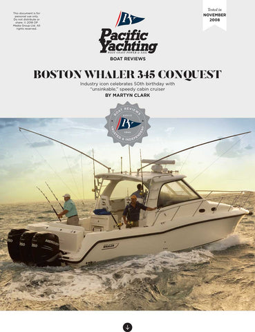 Boston Whaler 345 Conquest [Tested in 2008]