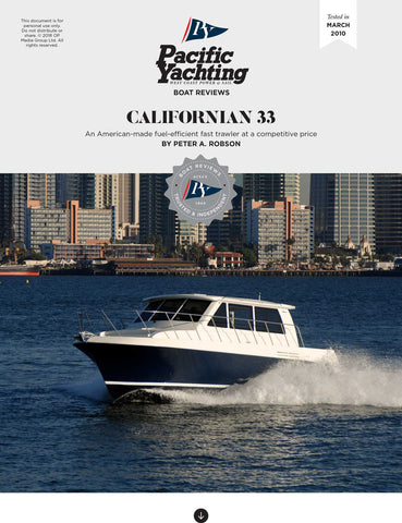 Californian 33 [Tested in 2010]