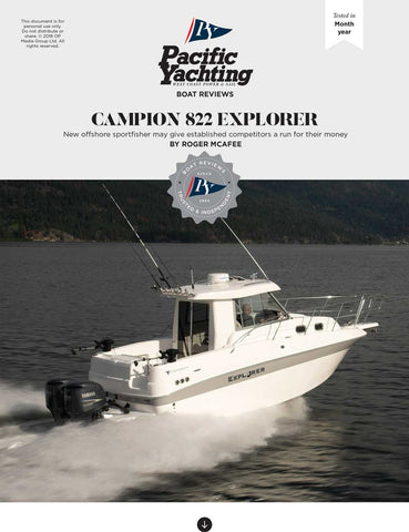Campion 822 Explorer [Tested in 2008]