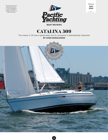 Catalina 309 [Tested in 2009]