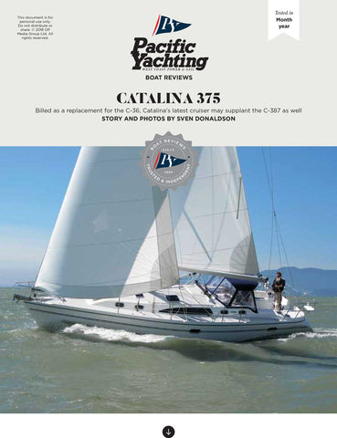 Catalina 375 [Tested in 2008]