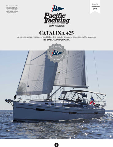 Catalina 425 [Tested in 2016]