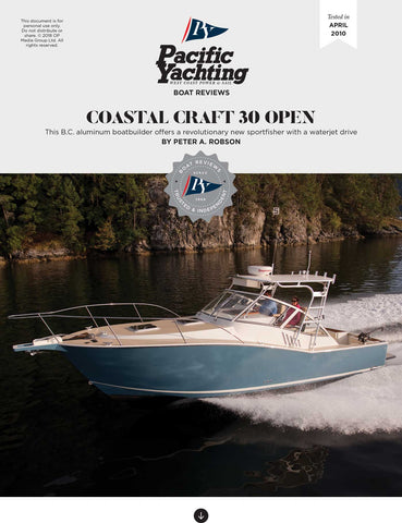 Coastal Craft 30 Open [Tested in 2010]