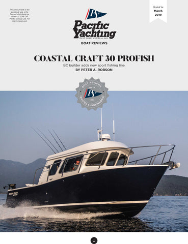 Coastal Craft 30 Profish [Tested in 2019]