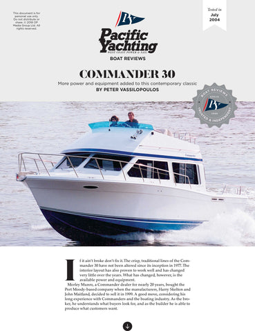 Commander 30 [Tested in 2004]