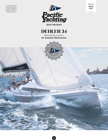 Dehler 34 [Tested in 2017]