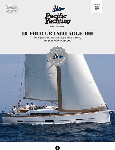 Dufour Grand Large 460 [Tested in 2017]