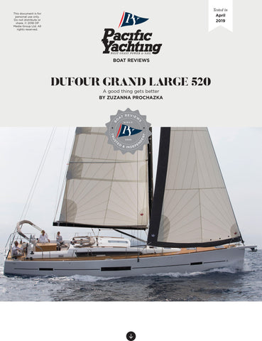 Dufour Grand Large 520 [Tested in 2019]