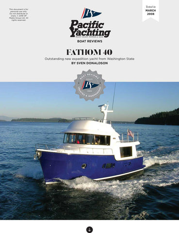 Fathom 40 [Tested in 2008]