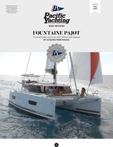 Fountaine Pajot [Tested in 2017]