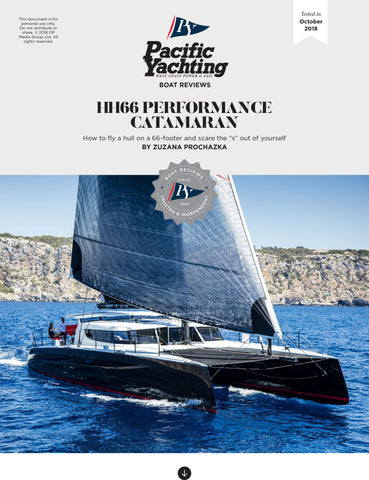 HH66 Performance Catamaran [Tested in 2018]