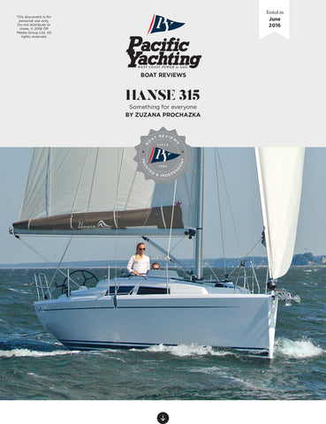 Hanse 315 [Tested in 2016]