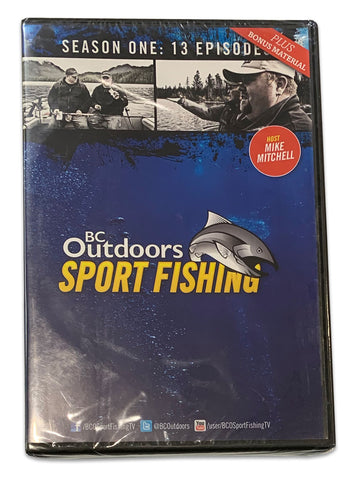 BC Outdoors Sport Fishing TV Season 1: 13 Episodes DVD