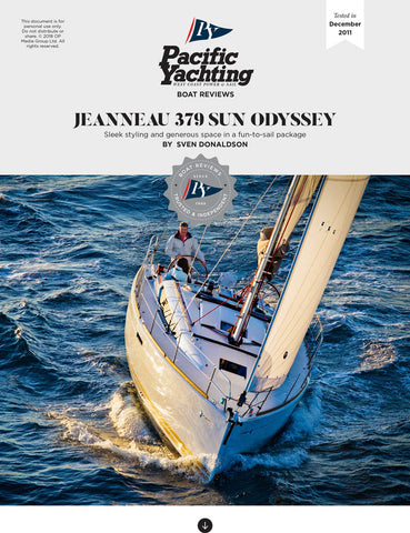 Jeanneau 379 Sun Odyssey [Tested in 2011]