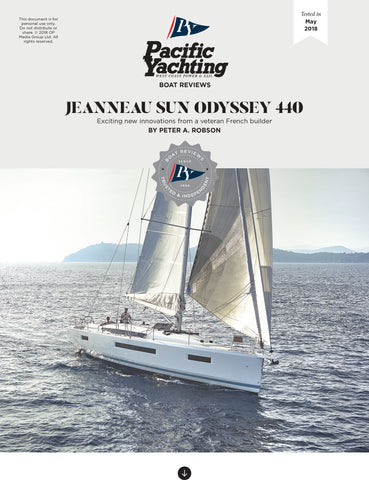 Jeanneau Sun Odyssey 440 [Tested in 2018]
