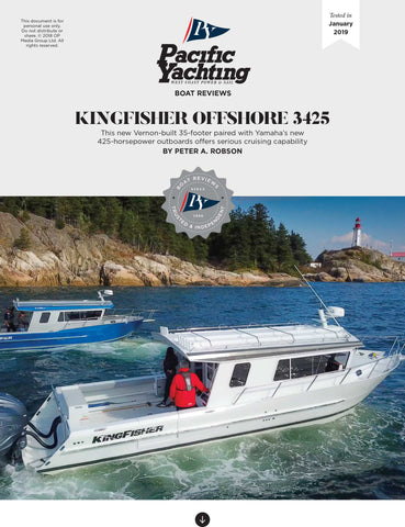 KingFisher Offshore 3425 [Tested in 2019]