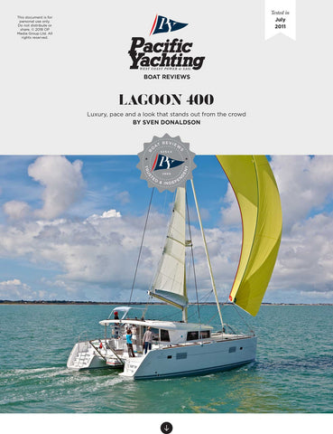 Lagoon 400 [Tested in 2011]