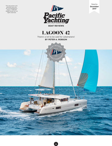 Lagoon 42 [Tested in 2017]
