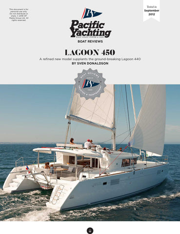 Lagoon 450 [Tested in 2012]