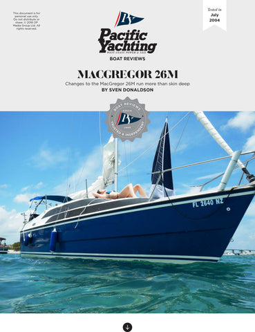 MacGregor 26M [Tested in 2004]