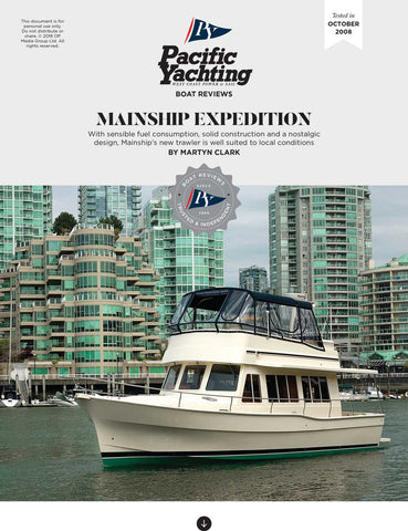 Mainship Expedition 41 [Tested in 2008]