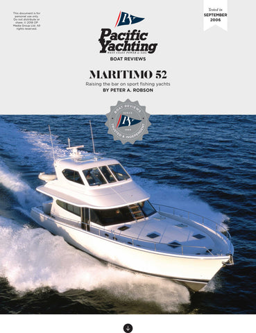Maritimo 52 [Tested in 2006]