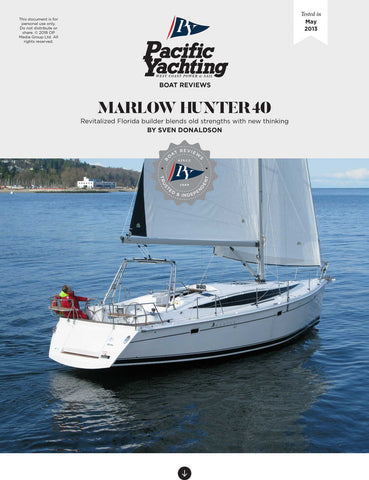 Marlow Hunter 40 [Tested in 2013]
