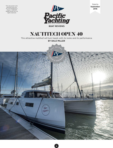 Nautitech Open 40 [Tested in 2016]