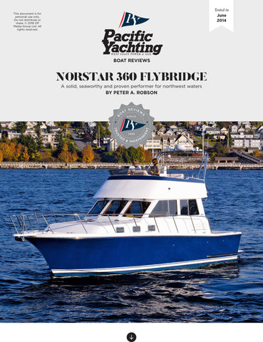 Norstar 360 Flybridge [Tested in 2014]