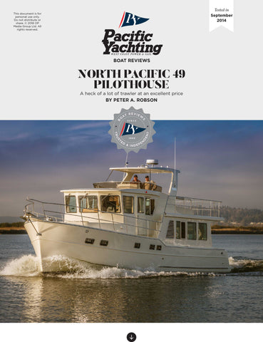 North Pacific 49 Pilothouse [Tested in 2014]