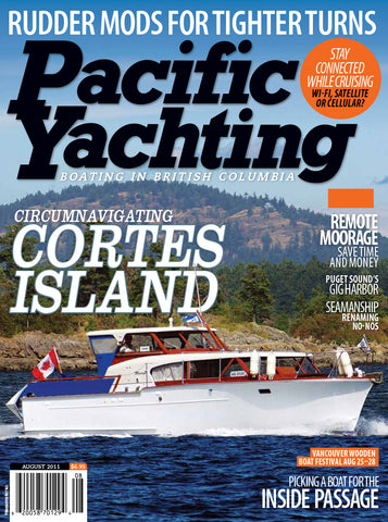 Pacific Yachting August 2011 Issue