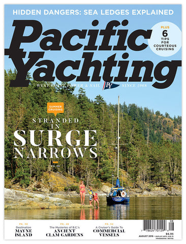 Pacific Yachting August 2016 Issue