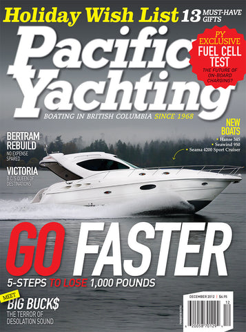 Pacific Yachting December 2012 Issue