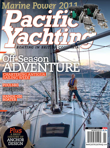 Pacific Yachting January 2011 Issue