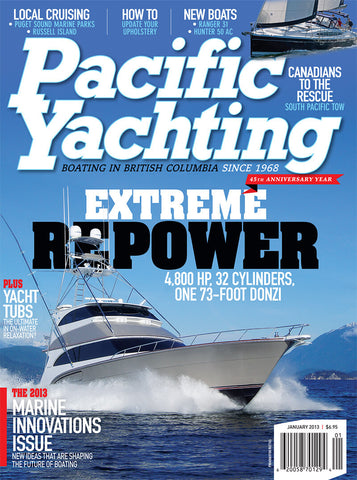 Pacific Yachting January 2013 Issue