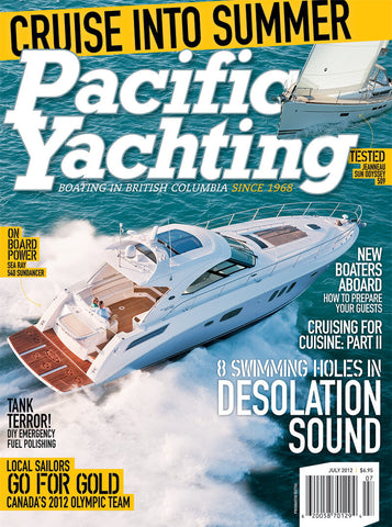 Pacific Yachting July 2012 Issue
