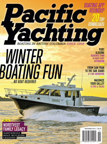 Pacific Yachting November 2013 Issue