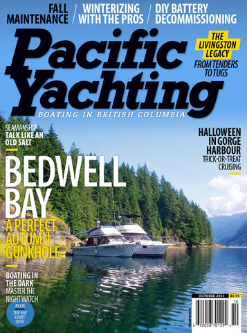 Pacific Yachting October 2011 Issue