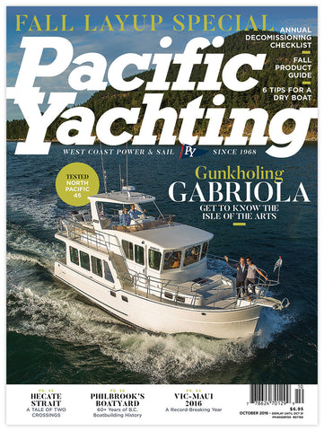 Pacific Yachting October 2016 Issue