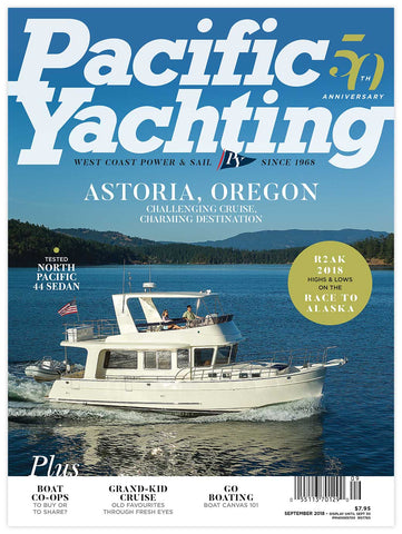 Pacific Yachting September 2018 Issue
