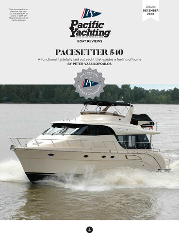 Pacesetter 540 [Tested in 2008]